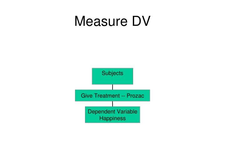 Measure DV