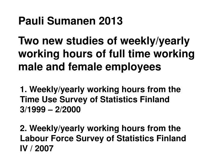 Pauli Sumanen 2013