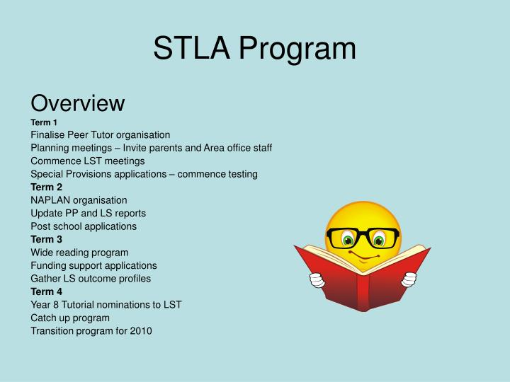 STLA Program