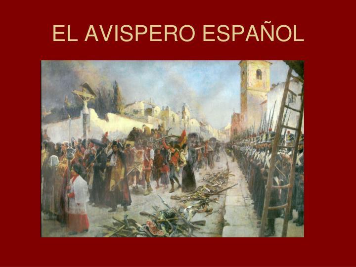 EL AVISPERO ESPAÑOL