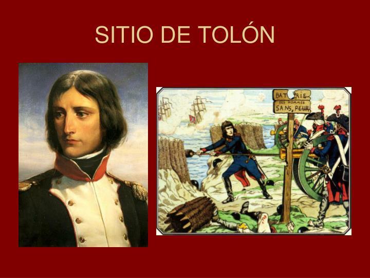 SITIO DE TOLÓN