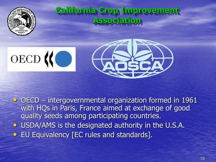 California Crop Improvement Association