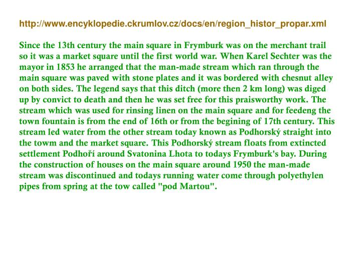 http://www.encyklopedie.ckrumlov.cz/docs/en/region_histor_propar.xml