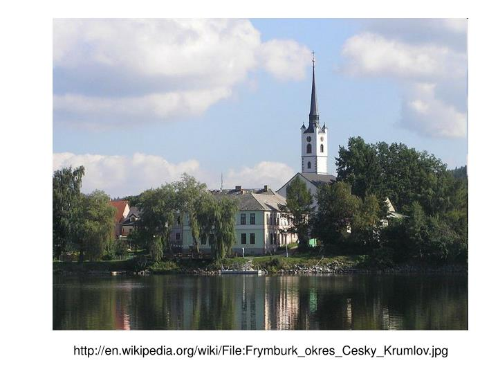 http://en.wikipedia.org/wiki/File:Frymburk_okres_Cesky_Krumlov.jpg