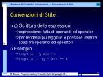convenzioni di stile5