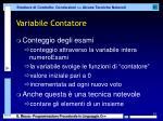 variabile contatore