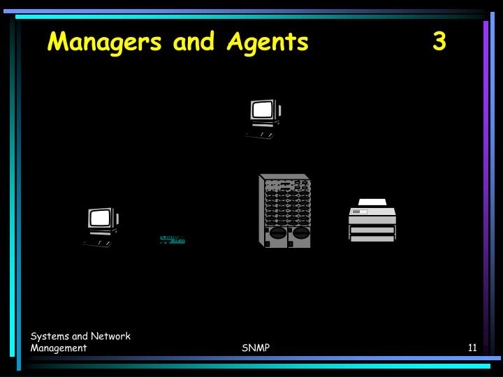 Managers and Agents		   3