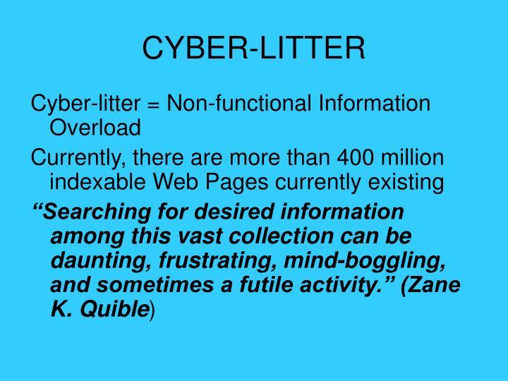 CYBER-LITTER