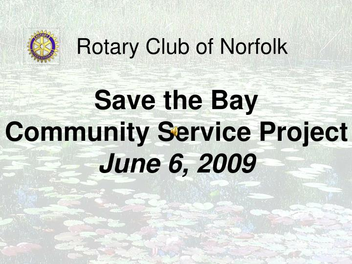Rotary club of norfolk