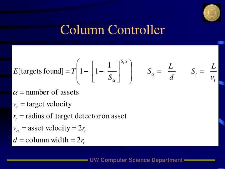 Column Controller