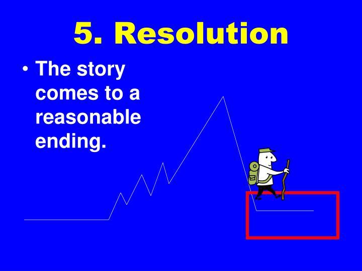 5. Resolution