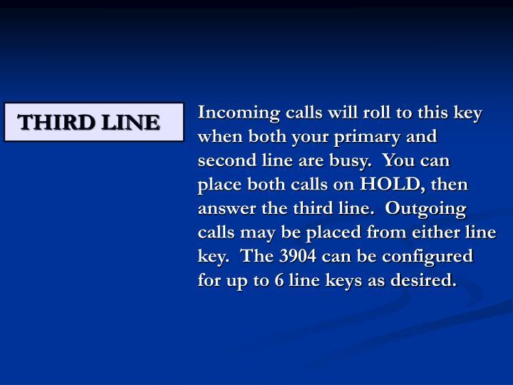 THIRD LINE