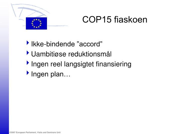 COP15 fiaskoen