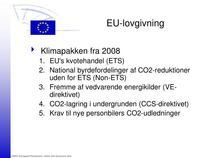 EU-lovgivning