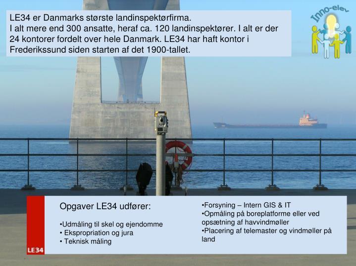 LE34 er Danmarks største landinspektørfirma.
