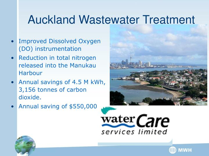 Auckland Wastewater Treatment