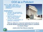 co2 as a pollutant