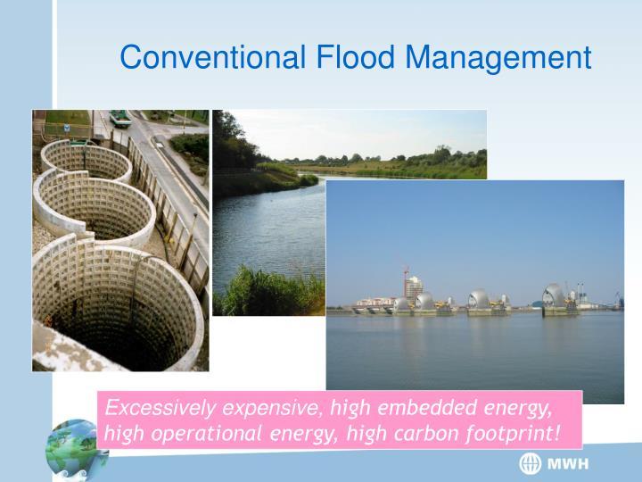 Conventional Flood Management