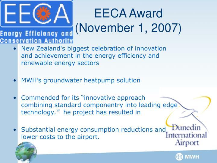 EECA Award