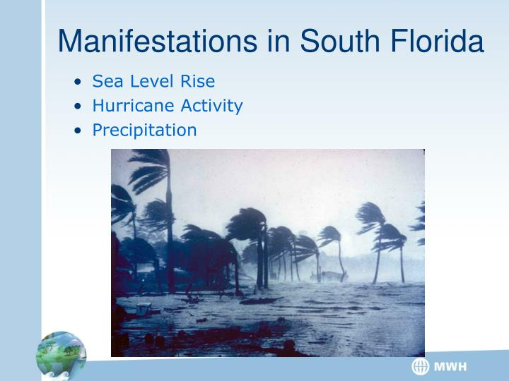 Manifestations in South Florida