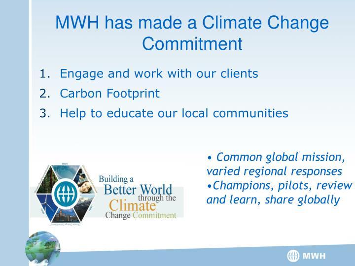 Common global mission, varied regional responses