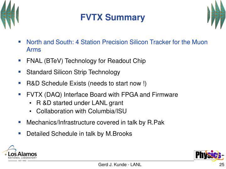 FVTX Summary