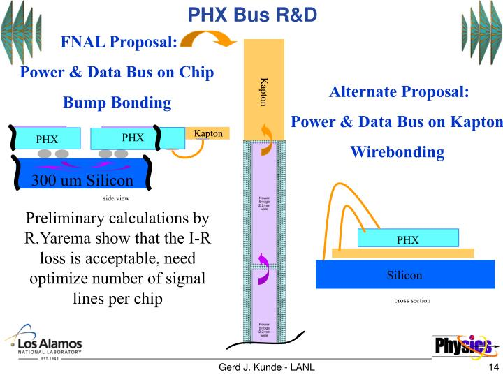 PHX Bus R&D