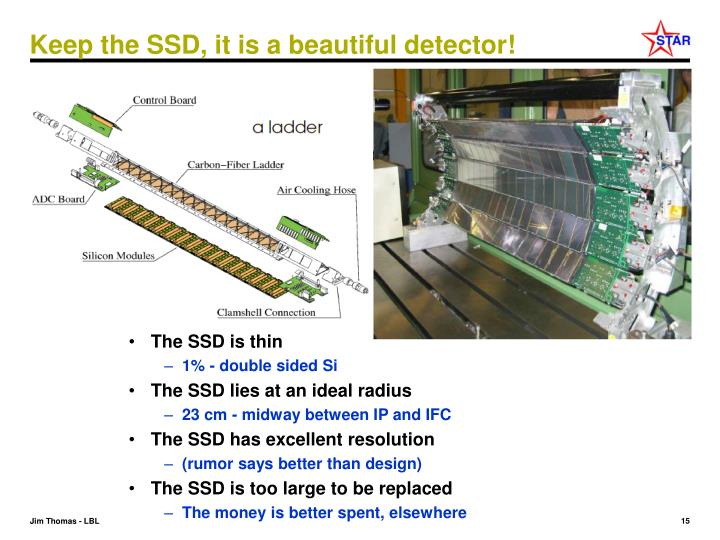 Keep the SSD, it is a beautiful detector!