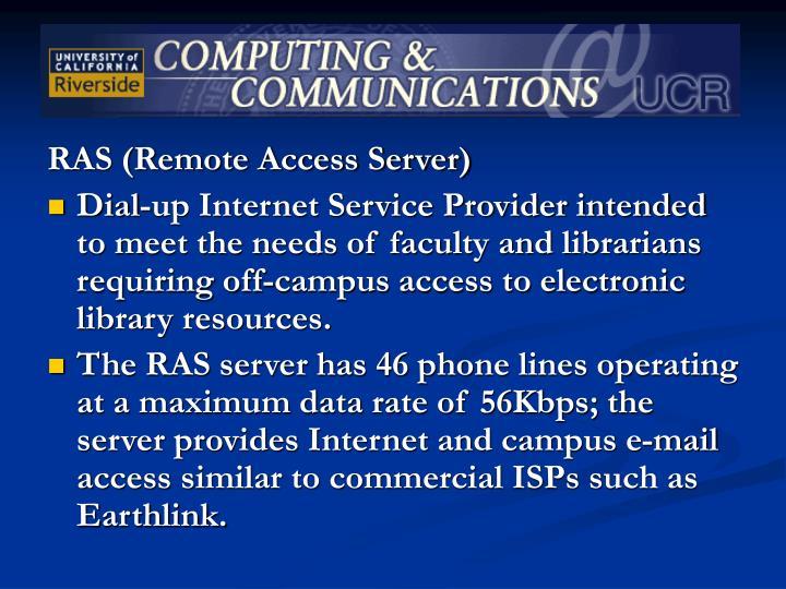 RAS (Remote Access Server)