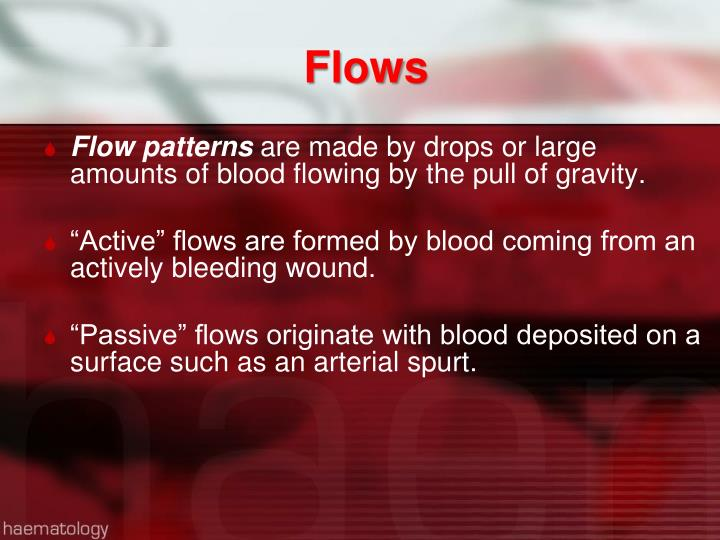 Flows