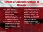forensic characterization of semen1