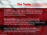 the tests2