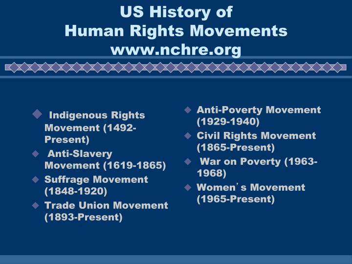 Indigenous Rights Movement (1492-Present)