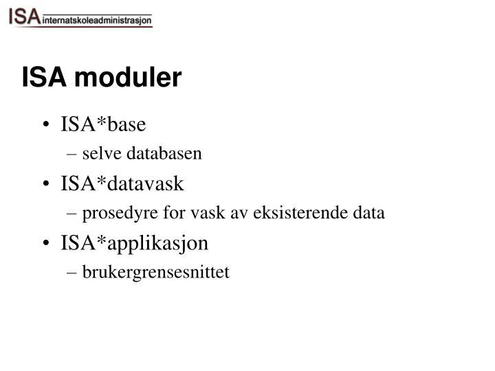 ISA moduler