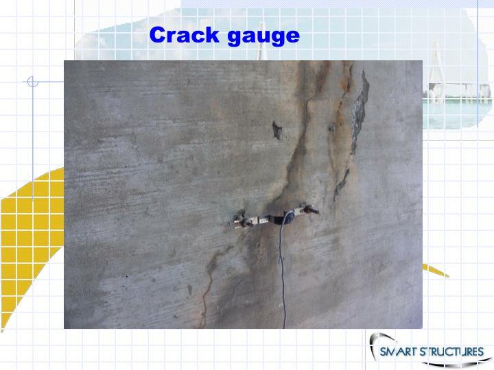 Crack gauge