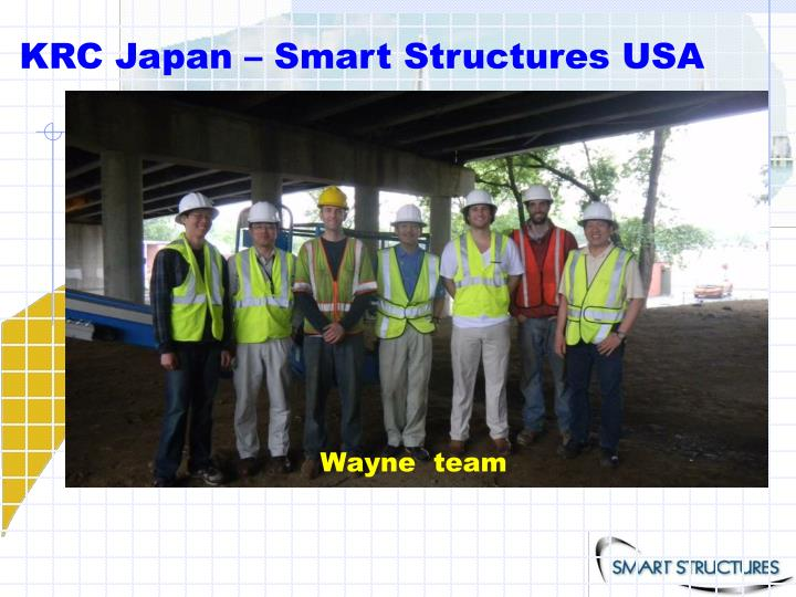 KRC Japan – Smart Structures USA