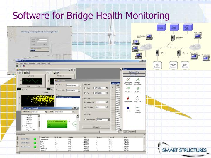 Software for Bridge Health Monitoring