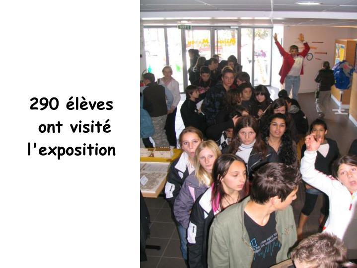 290 élèves