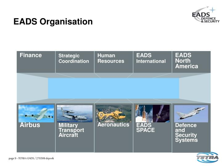 EADS Organisation