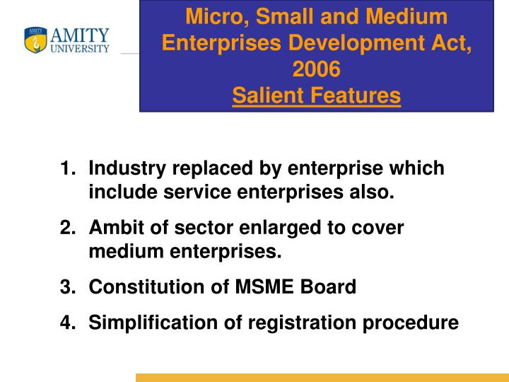 Micro, Small and Medium Enterprises Development Act, 2006