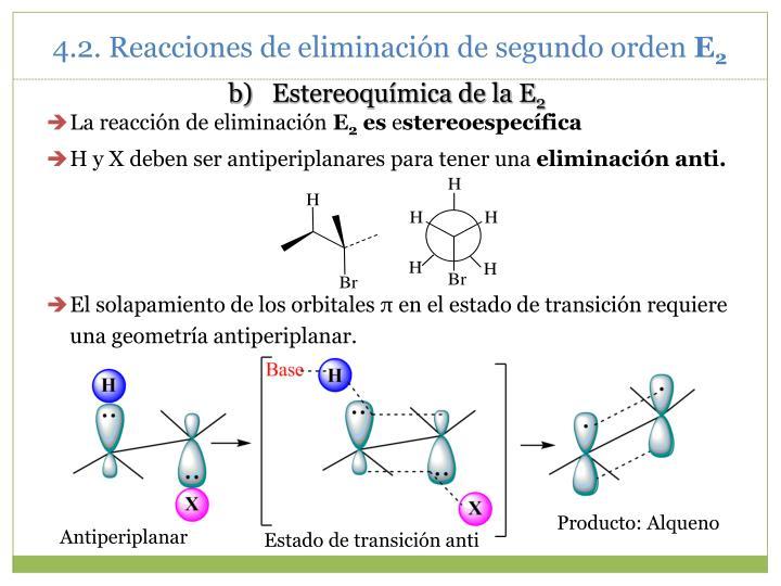 Estereoquímica de la E