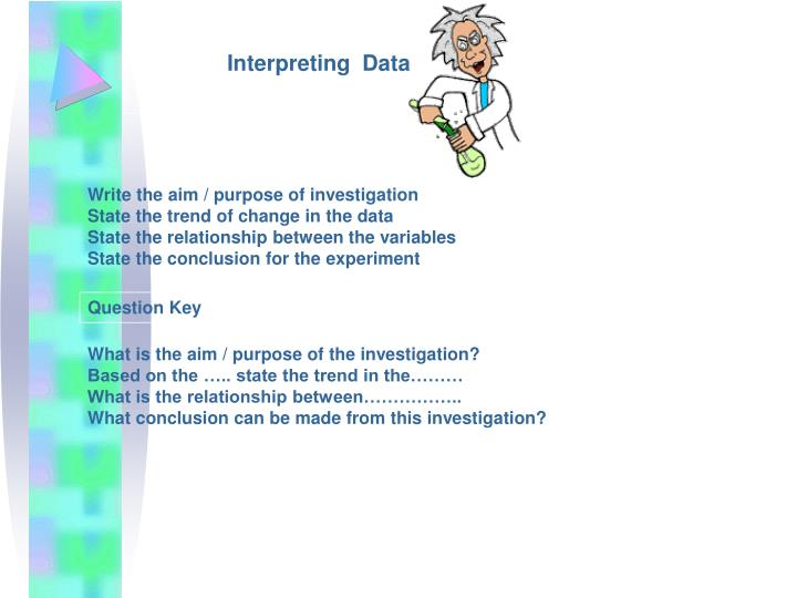 Interpreting  Data