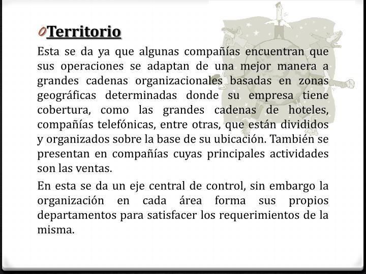Territorio