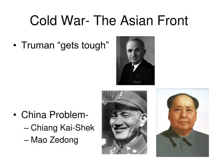 Cold War- The Asian Front