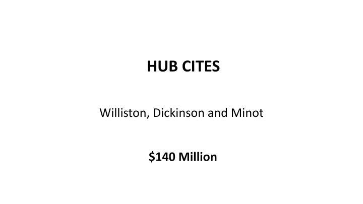 HUB CITES