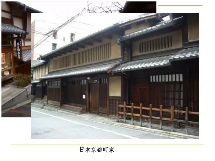日本京都町家