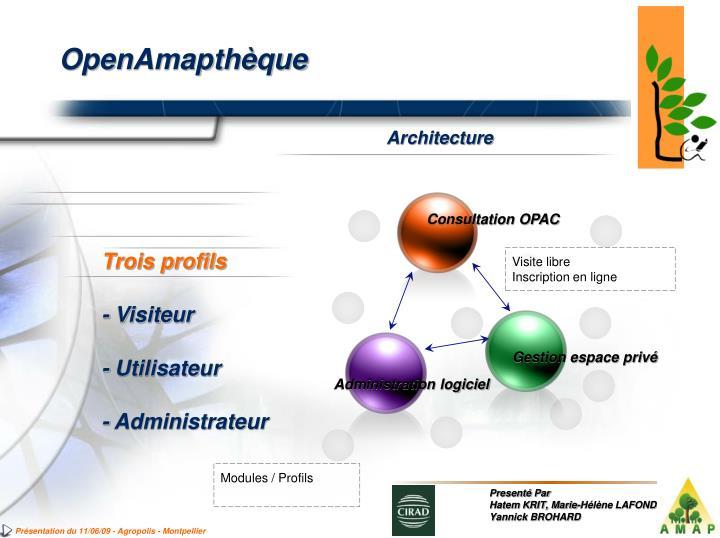Consultation OPAC