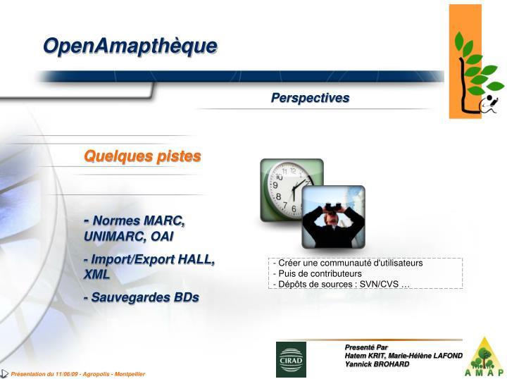 OpenAmapthèque