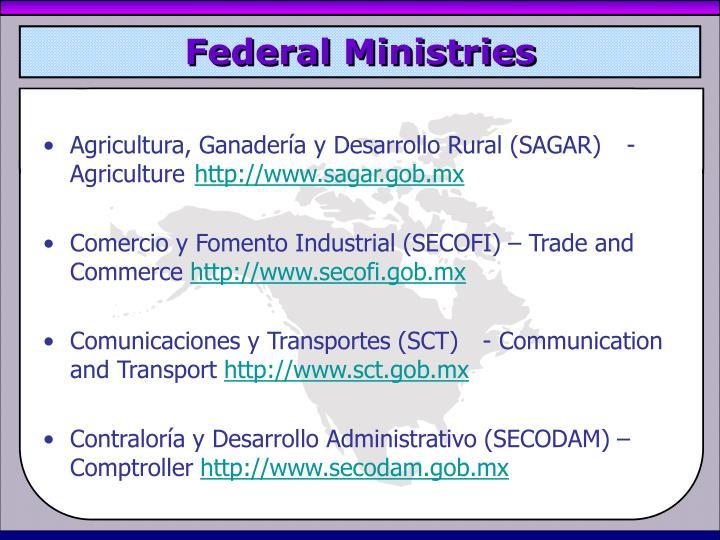 Federal Ministries