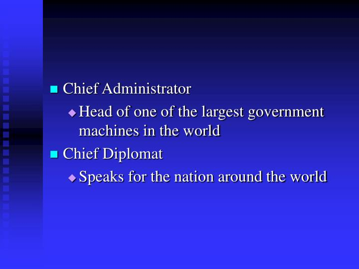 Chief Administrator